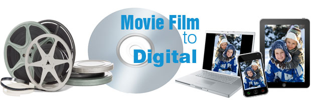 35mm Movie Film scanning conversion cd dvd