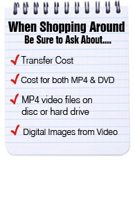 what to know when converting video tape to dvd