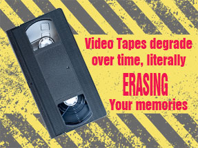 video tape conversion service UTAH